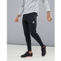 Reebok Training Work Out Ready Trackster Tapered Joggers In Black CW5031 - Black, kolor czarny