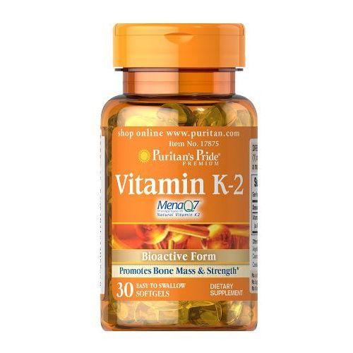 Puritan's Pride Witamina K2 (MenaQ7® menachinon-7) 50µg 30 kaps., postać leku: kapsułki