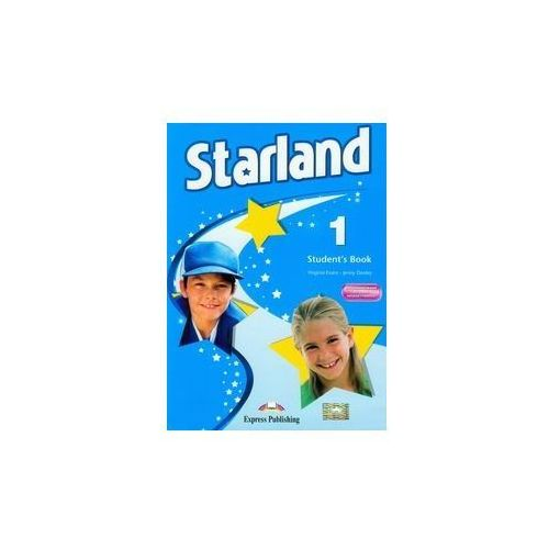 Starland 1. Podręcznik + Reader Puss in Boots + Interaktywny eBook, książka w oprawie miękkej