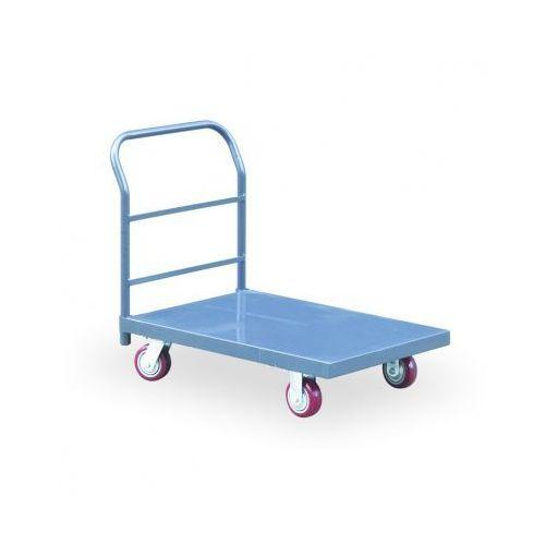 B2b partner Stalowy wózek platformowy z nośnością 900 kg