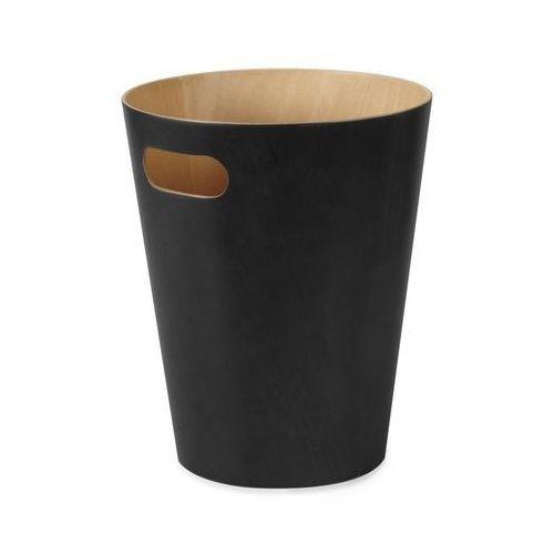 Umbra - kosz na śmieci woodrow - czarny - czarny