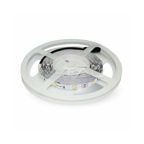 V-tac Taśma LED VT-5050 30-IP20 10mm 4Wat/m 6000K 14lm/m IP20, 1_660736