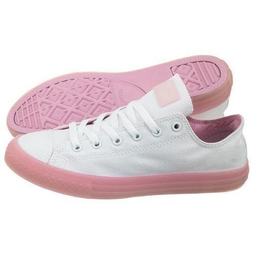 7f6072aca2229 Damskie obuwie sportowe · Trampki Converse CT All Star OX White/Cherry  Blossom 660719C (CO341-a)