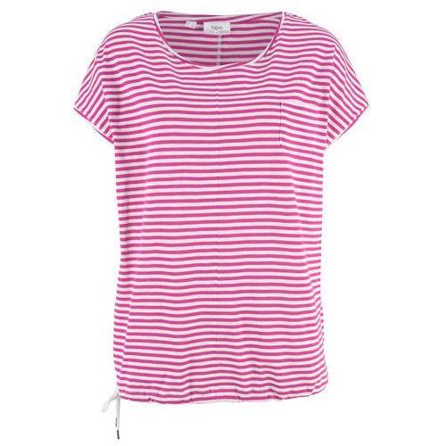 Shirt z aplikacją niebieskozielony morski, Bonprix, 32-42