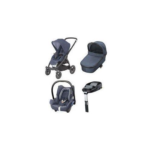 W�zek wielofunkcyjny 4w1 stella + cabrio fix + baza + gratis (nomad blue) marki Maxi-cosi
