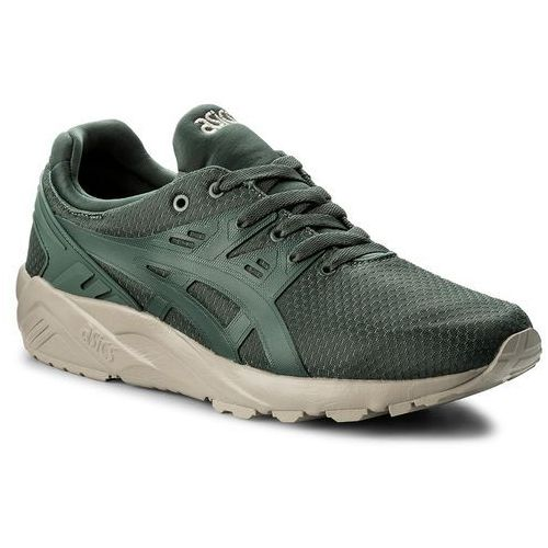 Asics Sneakersy - tiger gel-kayano trainer evo h821n dark forest/dark forest 8282