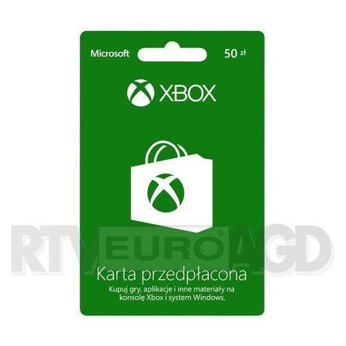 Doładowanie Xbox Live 50 PLN - produkt w magazynie - szybka wysyłka!