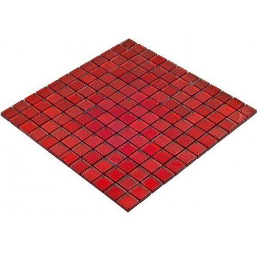 Goccia mosaico Goccia color line mozaika szklana czerwona, 30x30 cm cls1603