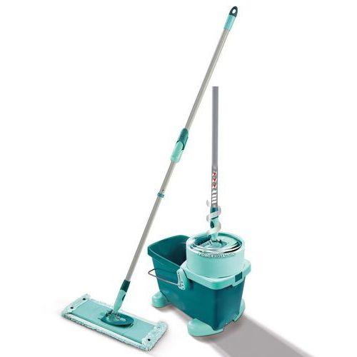 Leifheit Zestaw do czyszczenia podłóg Clean Twist, M, zielony, 52050