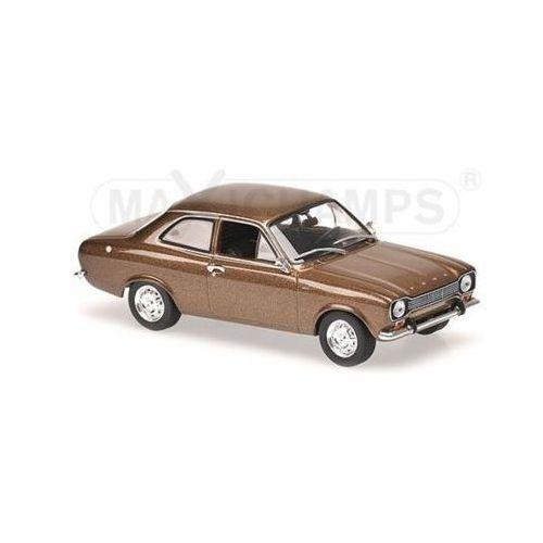 Minichamps Ford escort i lhd 1968 (brown metallic) (4012138142831)