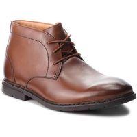 Trzewiki CLARKS - Banbury Mid 26135425 British Tan Leather, kolor brązowy