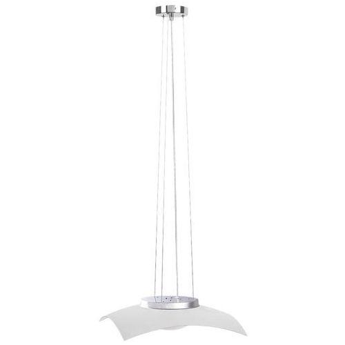 Rabalux Lampa wisząca zwis tia 1x12w led chrom/biały 4616 (5998250346168)