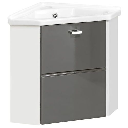 Narożna szafka pod umywalkę finka grey 824- 9068corne marki Comad