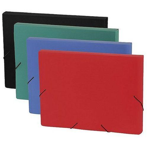 Teczka box a4 na gumkę focus zielona 0410-0059-04 marki Panta plast