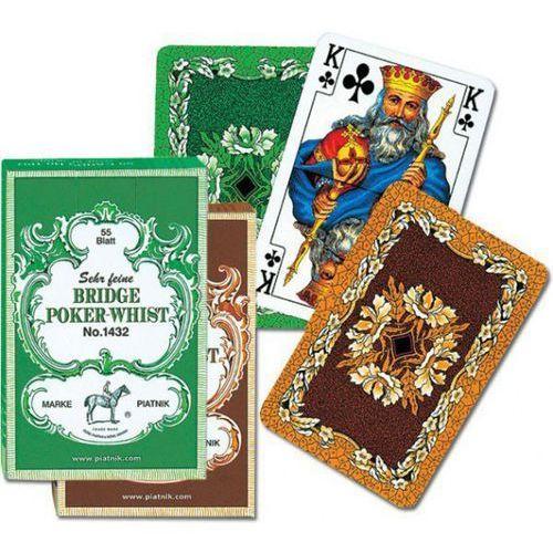 Karty do gry Piatnik 1 talia Liście dębu (9001890143212)