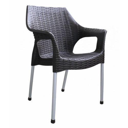 Mega plast krzesło bella mp1270, brązowy (8606006429443)