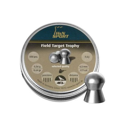 H&n sport Śrut diabolo h&n field target trophy 4.5mm 500szt (92104500005) (4047058001555)