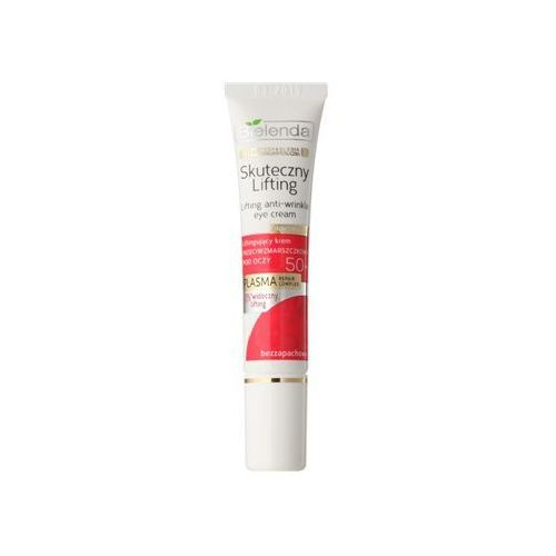 Bielenda Effective Lifting krem przeciwzmarszczkowy do okolic oczu z efektem liftingującym 50+ 15 ml