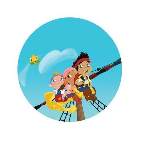 Dekoracyjny opłatek tortowy jake i piraci z nibylandii - 20 cm - 7 marki Modew