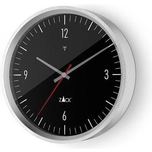 Zegar ścienny sterowany radiowo Vida 30 cm stalowy (4034398600760)
