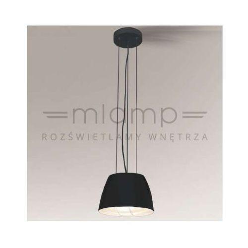 LAMPA wisząca KADOMA 5588/E27/CZ Shilo metalowa OPRAWA minimalistyczna zwis czarny, 5588/E27/CZ