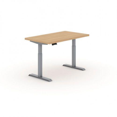 Stół warsztatowy z regulacją wysokości, 2 silniki, 1400 x 800 mm