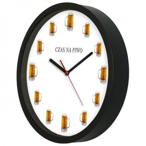 Atrix Zegar kwarcowy na ścianę dla piwosza