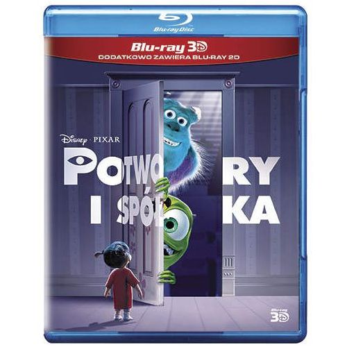 Potwory i spółka 3D (Blu-Ray) - Pete Docter, Lee Unkrich, David Silverman