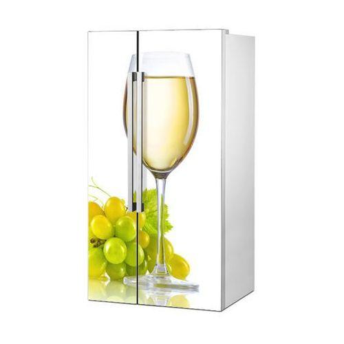 Stikero Mata magnetyczna na lodówkę side by side - kieliszek białego wina 0708
