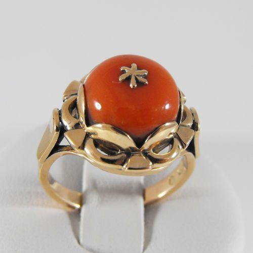 Złoty pierścionek P892