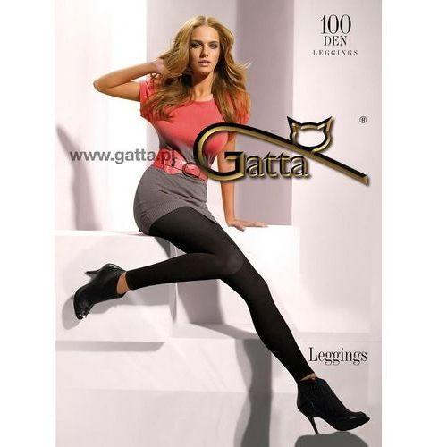 Legginsy Gatta Microfibra 100 den 5-XL 5-XL, czarny/nero, Gatta