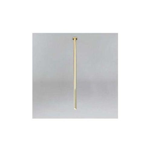 Shilo Podtynkowa lampa sufitowa alha t 9000/g9/1100/mo wpuszczana oprawa minimalistyczna do zabudowy sopel tuba mosiądz