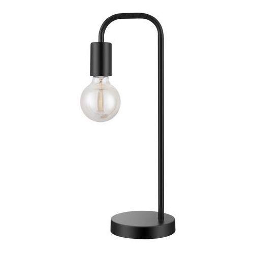 Lampa stojąca Ghlin 1-punktowa E27 czarna matowa