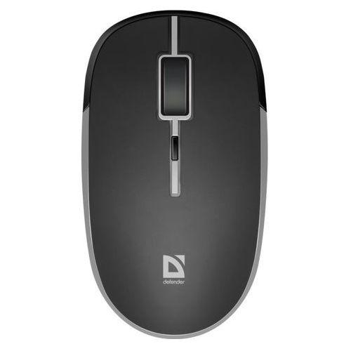 Mysz bezprzewodowa Defender HIT MB-775 optyczna 1600dpi 4P czarna akumulatorowa