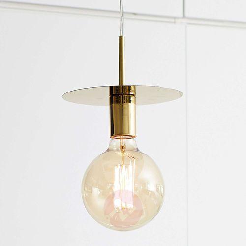 Lampa wisząca DISC Brass 106150 - Markslojd - Mega rabat w koszyku Negocjuj cenę online! / Darmowa dostawa od 300 zł / Zamów przez telefon 530 482 072 (7330024556645)