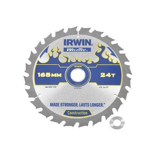 Irwin weldtec Tarcza do pilarki tarczowej 165mm/24t c/20(16) śr. 165 mm 24 z