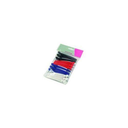 Efalock Combi Clip, klipsy fryzjerskie 10cm, 12 sztuk (4025341492808)