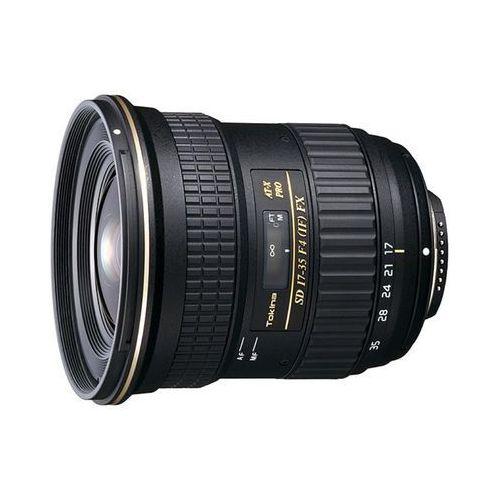 Tokina AF 17-35mm f/4 AT-X PRO FX SD (Canon) - przyjmujemy używany sprzęt w rozliczeniu | RATY 20 x 0%