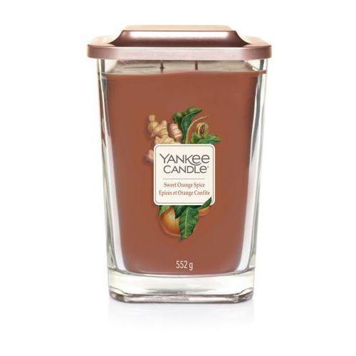 - świeca kwadratowa duża sweet orange spice marki Yankee candle