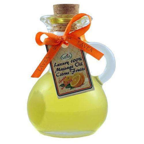 Luksusowy olejek do masażu citrus - 100 ml - marki Lavea