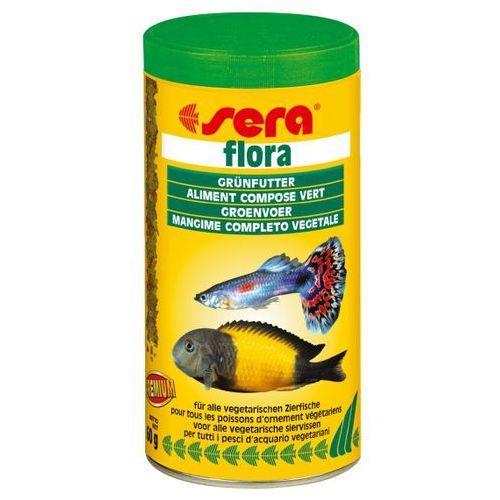 Sera flora - pokarm rośliny ze spiruliną - różne opakowania