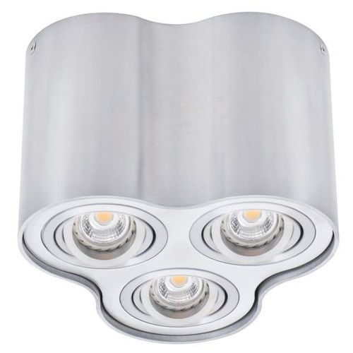 Spot Kanlux Bord 25802 lampa sufitowa punktowa 3x25W GU10 szary