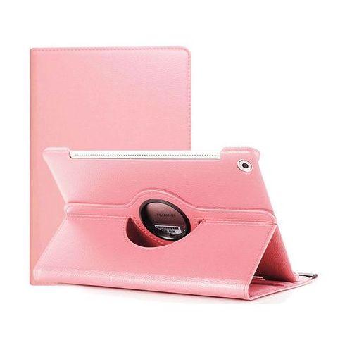 Etui obrotowe 360 Huawei MediaPad M5 10.8/ M5 pro Różowe - Różowy, kolor różowy