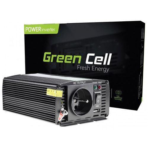 Green cell Przetwornica samochodowa 24v do 230v 300w/600w (5902719422164)