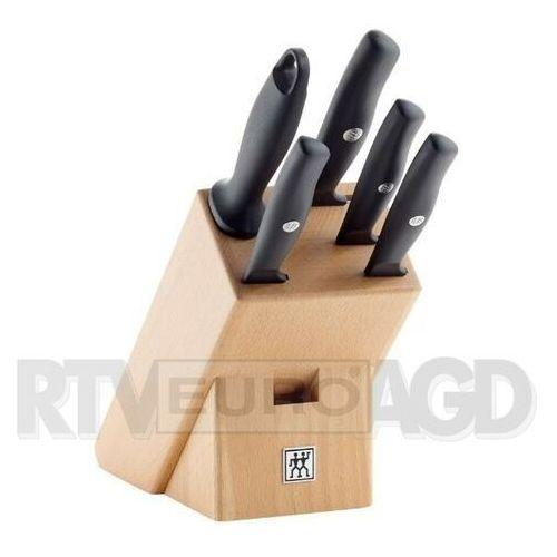 Zwilling zestaw noży w drewnianym bloku life 6 elementów (4009839396014)
