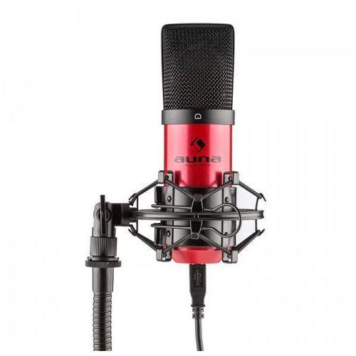 MIC-900-RD USB Mikrofon pojemnościowyczerwony Charakterystyka kardioidalna studyjny