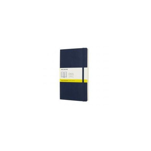 Moleskine Notatnik classic l kratka, miękka oprawa, szafirowy (8058341715598)