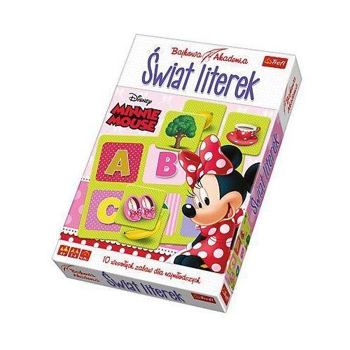 Trefl gra bajkowa akademia świat literek minnie mouse