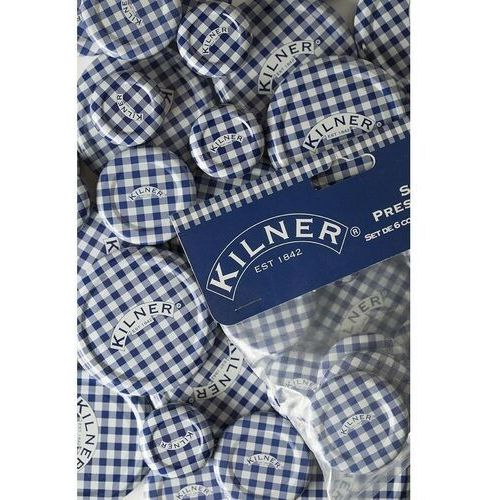 Kilner - zestaw 6 pokrywek 6x70mm made in england