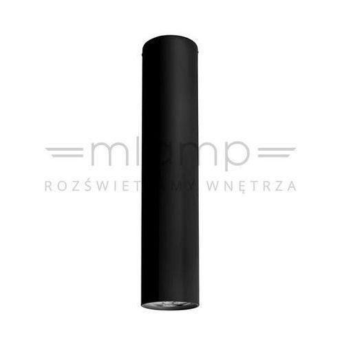 Natynkowa LAMPA sufitowa PIANO 20 67729 Ramko minimalistyczna OPRAWA downlight tuba czarna (5905001677297)